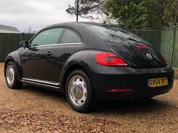 black volkswagen beetle used black vw beetle for sale dorset