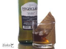 high class whiskey licor de whisky highclass