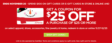 buy e gift cards 25 25 at jc penney with gift card purchase stack with amex