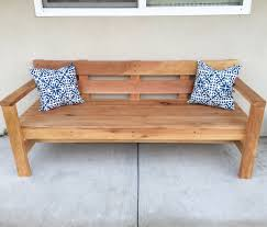 modern park bench do it yourself home projects from ana white