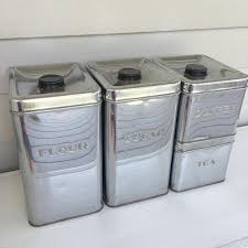kitchen canisters designs for modern living buungi com metal canisters for the kitchen