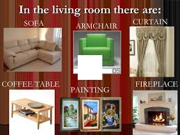 Living Room Furniture Names Parts Of Houses And Furniture On Living Room Furniture Names