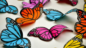 create simple and beautiful paper butterflies diy crafts