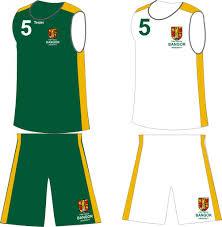 uni kit bangor uni basketball kit home away kit 58 50 teejac