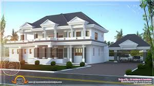 house design and floor plans 35 modern luxury home designs 4500 sqfeet modern unique villa