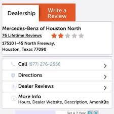 mercedes dealerships in houston mercedes of houston 105 photos 78 reviews auto