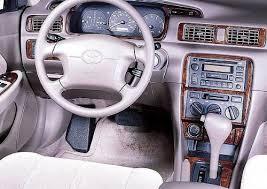 1997 toyota camry accessories amazon com toyota camry interior burl wood dash trim kit set 1997