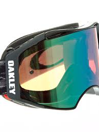 oakley motocross goggle lenses oakley jet black prizm jade airbrake mx goggle oakley