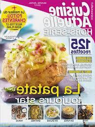 abonnement magazine de cuisine abonnement cuisine actuelle unique abonnement magazine cuisine