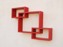 Simple Wall Furniture Design Zig Zag Wall Shelves Online Wooden Furniture Shopping India Haammss