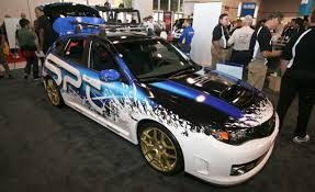 subaru wrx custom 2010 subaru wrx sti by spt auto shows news car and driver