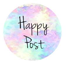35mm happy post watercolour effect from simplystickersuk on