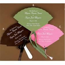 ceremony fans wedding ceremony program fan template weddingbee