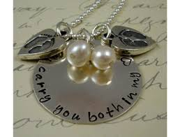 remembrance necklace remembrance necklace loss miscarriage
