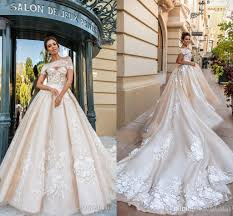 designer wedding dresses 2018 gorgeous designer wedding dresses 3d floral applique