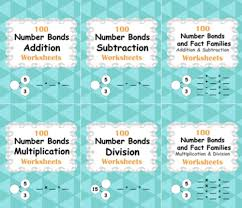 number bonds and fact families addition and subtraction facts