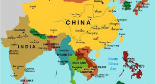 asia east map east asia map major tourist attractions maps