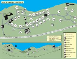 parks map cground maps state parks and lands maine dacf