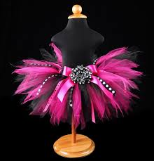 ribbon tutu the party birthday tutu is stunning in black and fuchsia tulle
