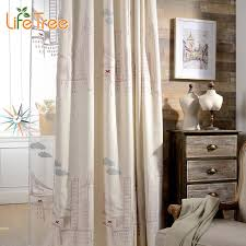 Embroidered Linen Curtains Popular Embroidered Linen Curtain Buy Cheap Embroidered Linen