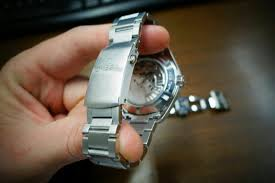adjustable bracelet clasps images New adjustable clasp on aqua terra 8500 bracelet jpg
