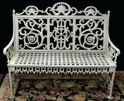 Wrought Iron Patio Furniture Vintage Garden Bench Vintage Outdoor Furniture Wrought Iron Garden