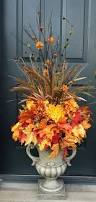 Outdoor Decorations For Fall - fall urn ideas for front porch outdoor decor fall pinterest