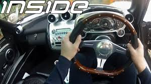 pagani zonda interior inside pagani zonda f 14 25 right hand drive 1080p hd youtube