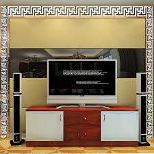 Mirror Wall Decals And Wall by Modern Acrylic Mirror Wall Stickers Ceiling Mural Home Decal Decor