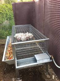 gabbia per pulcini gabbia polli ingrasso cm 143x60