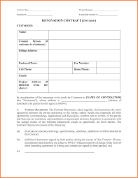 remodeling contract sample remodeling contract form template png
