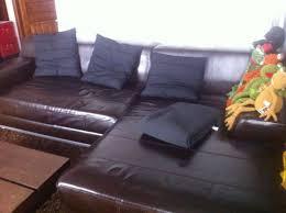 promo canapé ikea canapé en marron cuir véritable ikea kramfors luckyfind