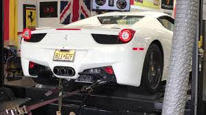 ferrari back fabspeed motorsport ferrari 458 italia full exhaust from headers