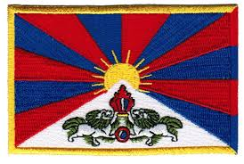 Country Flags Small Amazon Com Tibet Flag Embroidered Patch Buddhist Tibetan Iron On