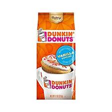 Flavored Coffee Dunkin Donuts Bakery Series Coffee Vanilla Cupcake