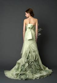 Wedding Dresses In Away From The Traditional White Bridal Dresses In Colour