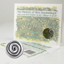 new beginnings greeting cards miracle of new beginnings greeting card ecosmart designs