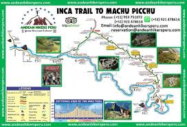 Tripadvisor Map Inca Trail To Machu Picchu 2d 1n Andean Hikers Perú