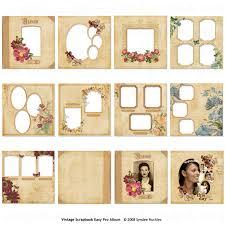 vintage scrapbook album easy page pro album vintage scrapbook