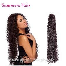 pre braided crochet hair wholesale 18brazilian curly crochet hair freetress hair crochet