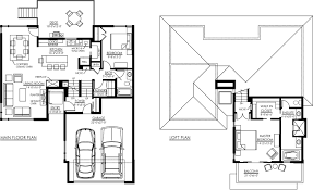 bungalow house plans with loft arts
