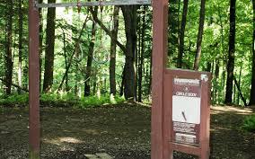 Iup Map College Lodge U0026 Ski Hut Outdoor Hiking 5k U0026 Disc Golf Park