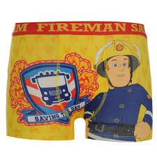 fireman sam fireman sam single boxer shorts infant boxer shorts