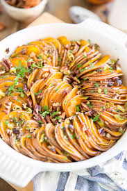 scalloped sweet potato ring the healthy foodie