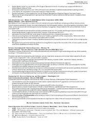operations manager sample resume logistics manager template
