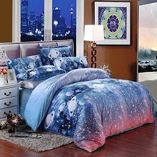 Space Bed Set Saym Home Bedding Sets Quilt Cover Galaxy Duvet Cover Galaxy