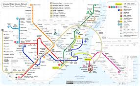 Dc Metro Bus Map by Istanbul Subway Map My Blog