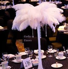 ostrich feather centerpiece crafty ostrich feather centerpiece exceptional value mirror and