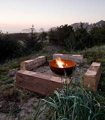 Firepit Bowls Metal Pit Designs And Outdoor Setting Ideas