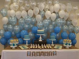 baby shower wall decorations baby boy shower sweet table back wall with balloons babyshower